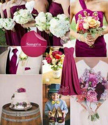 colores para boda de noche sangria - Buscar con Google