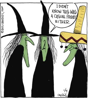 ~ Witchy Humor: Casual Friday