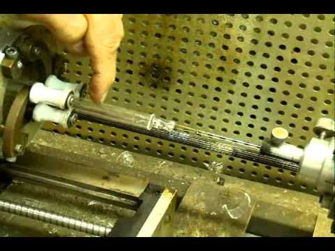 making a miniature X ray tube - YouTube