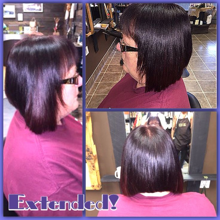Beautiful Red-Violet hair colour with a beautiful Red Violet extension panels in the front Cut and colour by M.Spooner and extensions by Caitlyn #loveit #extension #perfect #fallstyles