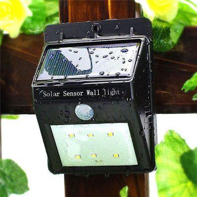 6 LED Solarleuchte Solarlampe Außenleuchte Bewegungsmelder Gartenleuchte DHLsparen25.com , sparen25.de , sparen25.info