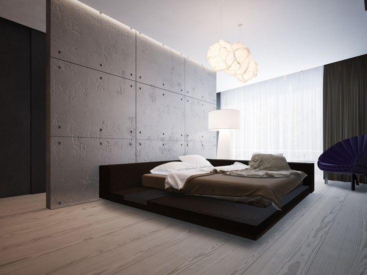 Фото U2014 Dom Pechersk U2014 Interior Design I Usually Donu0027t Like Minimalist  Interiors But The Light Here Is Perfect For A Bedroom.