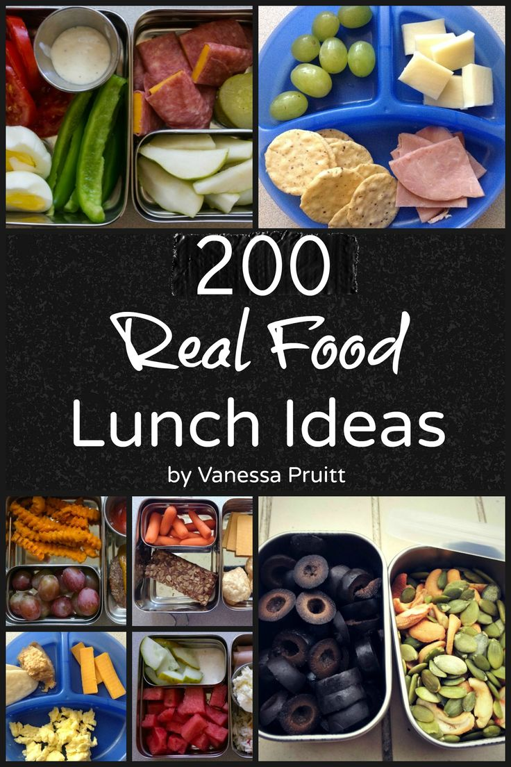 Days Of Real Food Lunch Box Ideas
