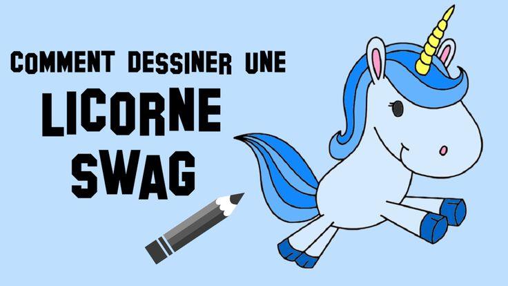Voici comment je dessine une licorne swag ! Comment dessiner une licorne swag ! Enregistrer