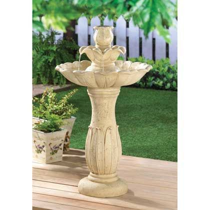 Fountains And Bird Baths for the Garden See Here! | sheronfenty