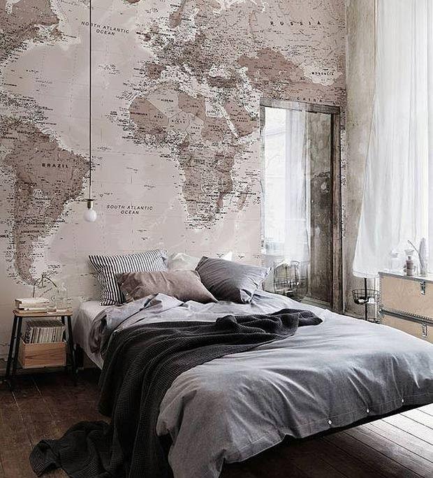 12 inspirações de quartos sem cabeceira - Casa e Jardim | Decoração