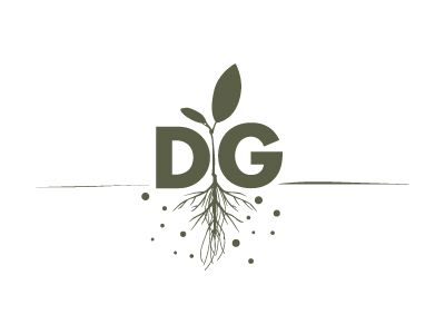 Logo inspiration for florists and gardeners. Desperate gardener logo