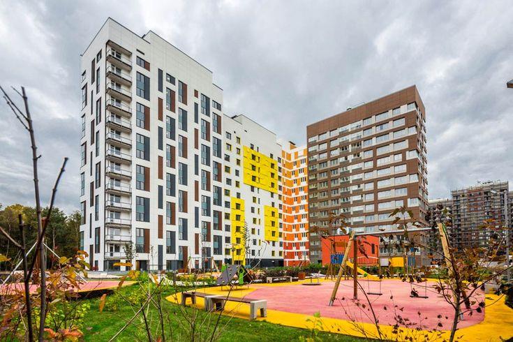 """Microcity v lesu"", Moscow, Russia – Architecture Lab"