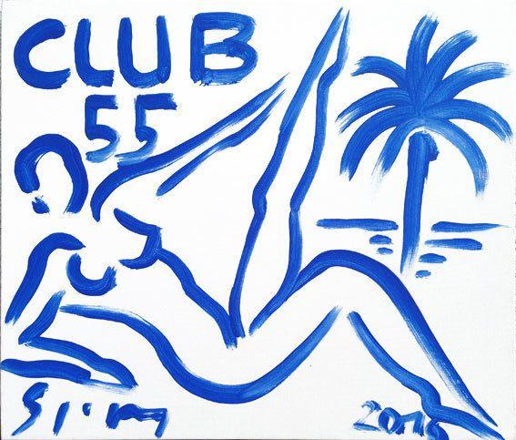 Stefan Szczesny, 'Club 55 - Liegender Akt', 2016