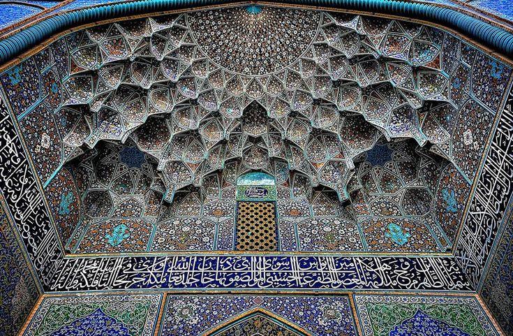 Mezquita Sheikh Lotfollah, Isfahán, Irán.