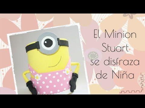 El Minion Stuart se disfraza de Niña - YouTube