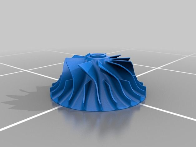 Centrifugal Compressor by CATIAV5FTW - Thingiverse