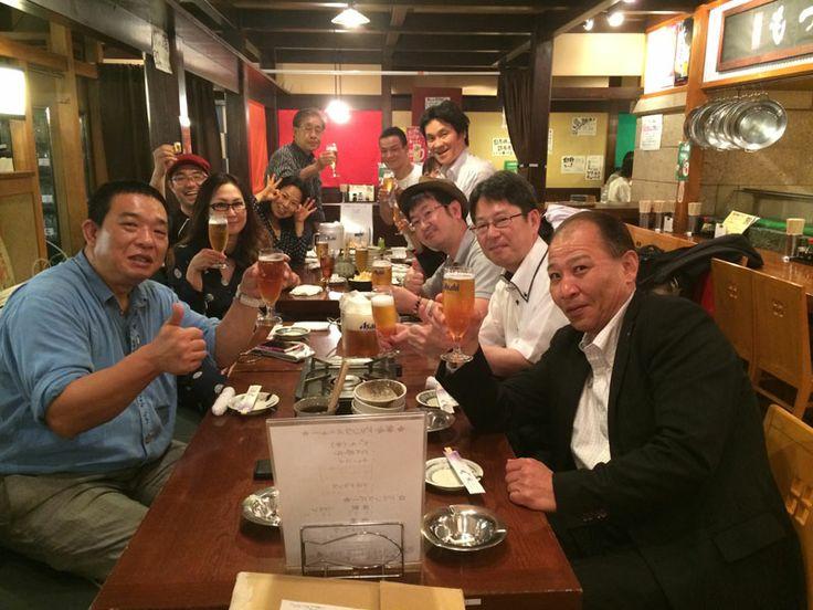 懇親会の写真 堺筋本町サカホン酒場 http://kumahachi.me/seminar/post-1053