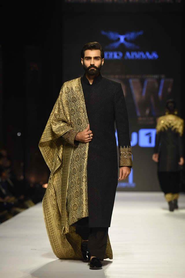 Zaheer Abbas Dresses Fashion Pakistan Week WF 2015 Images