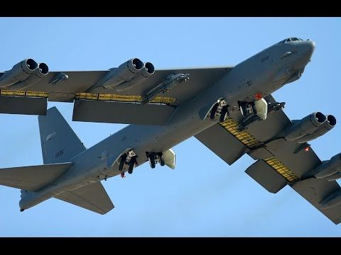 SUPER POWERFUL us air force Boeing B-52 Bomber Aircraft