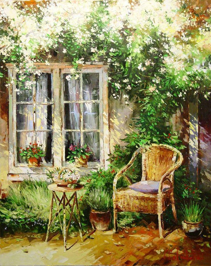 Russian artist Gleb Goloubetski | 100x80 2005