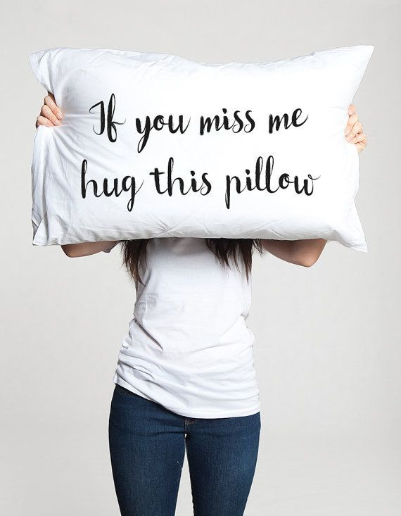 Long Distance Pillows: in