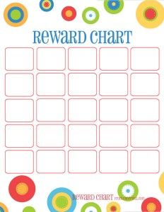 Dots reward charts: Potty training