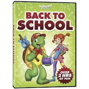 kaboom! - Back to School is a fantastic collection that includes 10 episodes of your favorite shows! Enjoy Franklin, George Shrinks, Elliot Moose and Timothy Goes To School on this DVD!