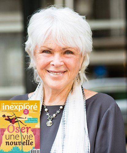Beautiful picture of Byron Katie (picture from french magazine http://www.inrees.com/Abo/Inexplore-magazine/Inexplore-HS5/)