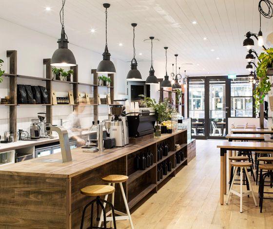 Lucky Penny Café Restaurant by Biasol: Design Studio, photo: Martina Gemmola                                                                                                                                                                                 More