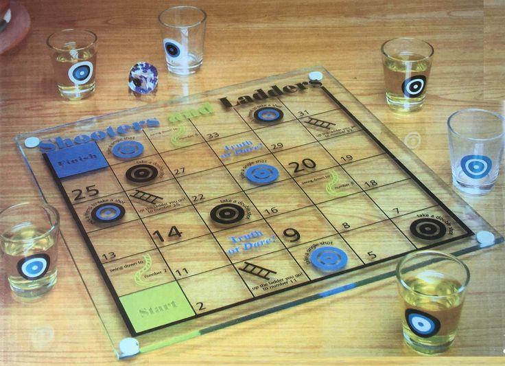 Drinking Game Checker Board