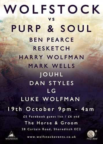 Wolfstock vs Purp & Soul Poster