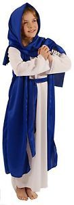 Nativity-Easter-WHITE-amp-BLUE-BIBLE-VILLAGER-MARY-Fancy-Dress-Costume-ALL-AGES