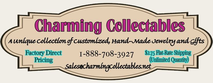 Charming Collectables - great selection of charms, necklaces, bracelets, etc.
