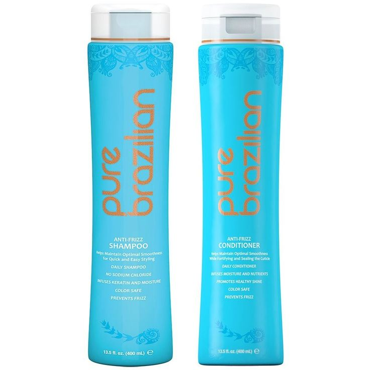 Pure Brazilian Anti Frizz Shampoo and Conditioner Set 13.5 oz each -- Find out more at the image link. #hairstylist