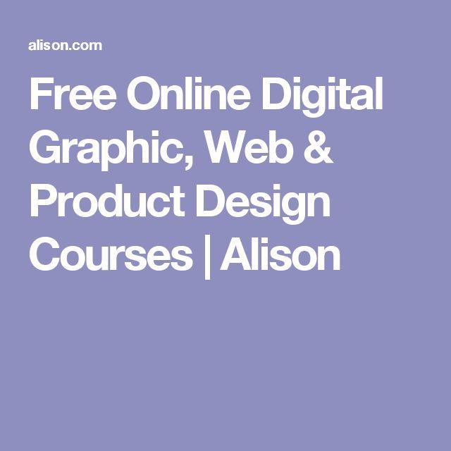 Free Online Digital Graphic, Web & Product Design Courses   Alison