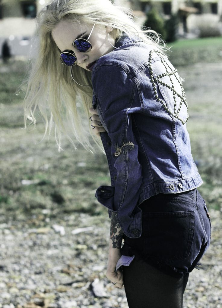Studded Pentacle Jacket- Gypsy Warriors | Clothes that I ...