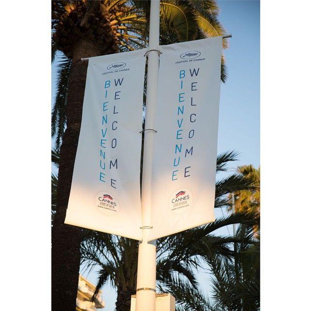 Bonjour Cannes! #Cannes #cannes2015 #cannesforever #FestivalDeCannes #croisette #film #cinema