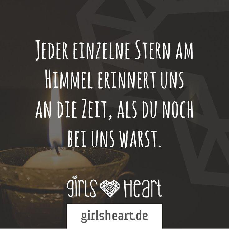 Erinnerung.  Mehr Sprüche auf: www.girlsheart.de  #abschied #verlust #tod #erinnerung #zeit #sterne