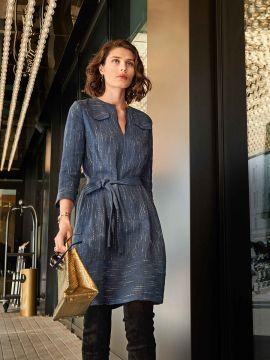 Викрійка Сукня лляна А-силуету з довгими рукавами  купити викрійки ... 05fc0145a92e0