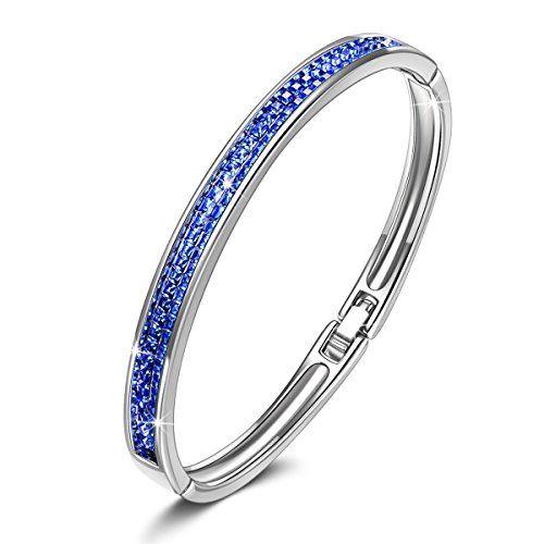 e5216243c05 Kate Lynn Lifespring Bracelet pour Femme Composés de Cristaux Swarovski