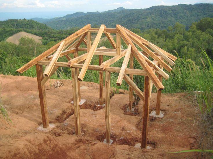 raise.jpg (1844×1383) Timber framing, Hip roof, Japanese