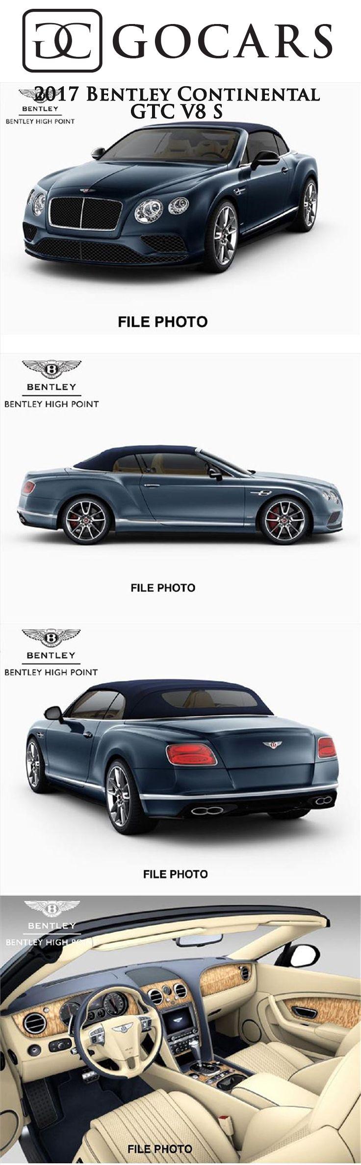 2017 Bentley Continental GTC V8 S for sale on GoCars #bentley #bentleycontinental #bentleycontinentalgtc #bentleycontinentalgtcv8s #sportscar #sportscars #supercar #supercars #luxury #luxurycars #bentleyphotos #gocars