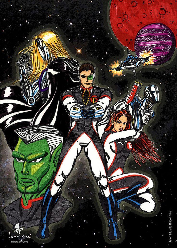 Diseño de personajes para comics