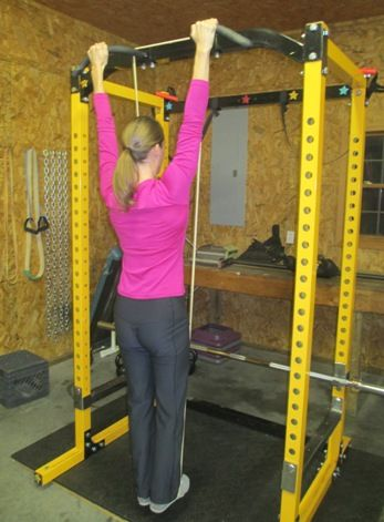 See how to correctly perform band assisted pull-ups (and dips) and get the most benefit from the exercise. Also shown is an advanced assisted variation.