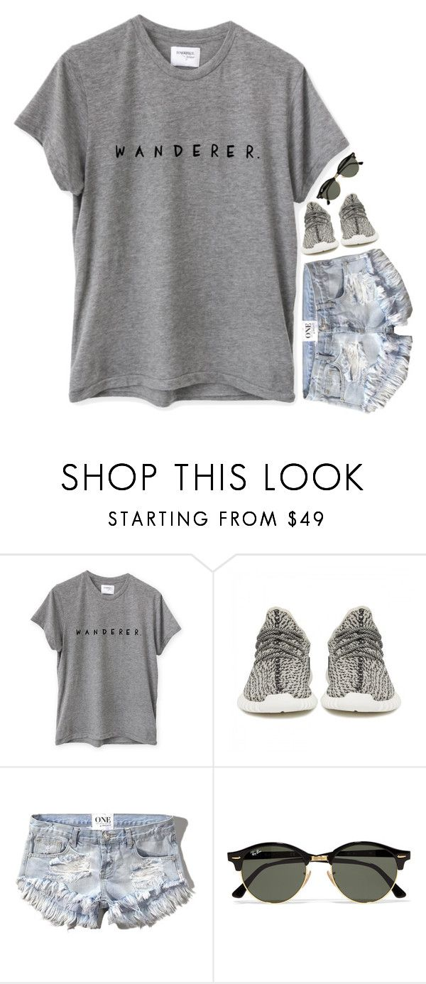 """""""i wanna travel"""" by julesamber ❤ liked on Polyvore featuring adidas Originals, Abercrombie & Fitch and Ray-Ban"""