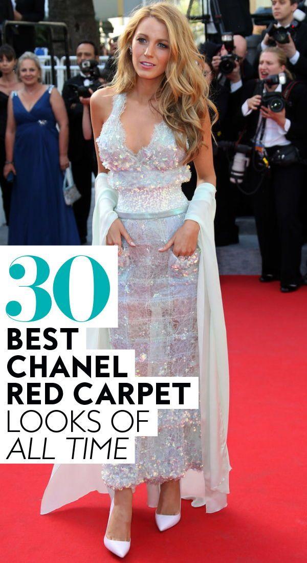 0caf137fe 30 best #chanel #redcarpet looks of all time. #blakelively #karllagerfeld  #blakelivelyfashion