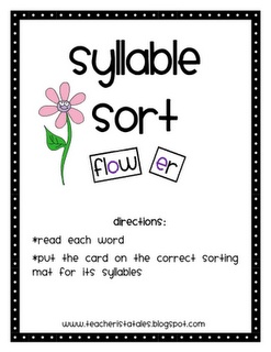 92 best SLP Multi-Syllabic Word Freebies images on