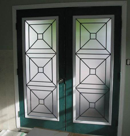 Replacement Glass For Modern Entry Door Glass Door Insert Home Pinterest Wrought Iron