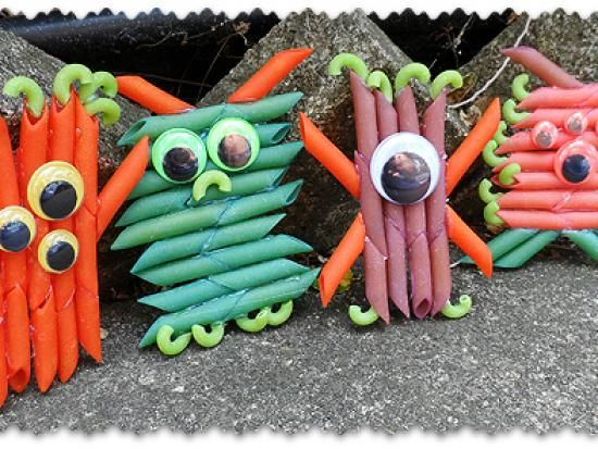 Cool project from http://www.kiwicrate.com/projects/Colorful-Pasta-Monsters/1517: Colorful Pasta Monsters