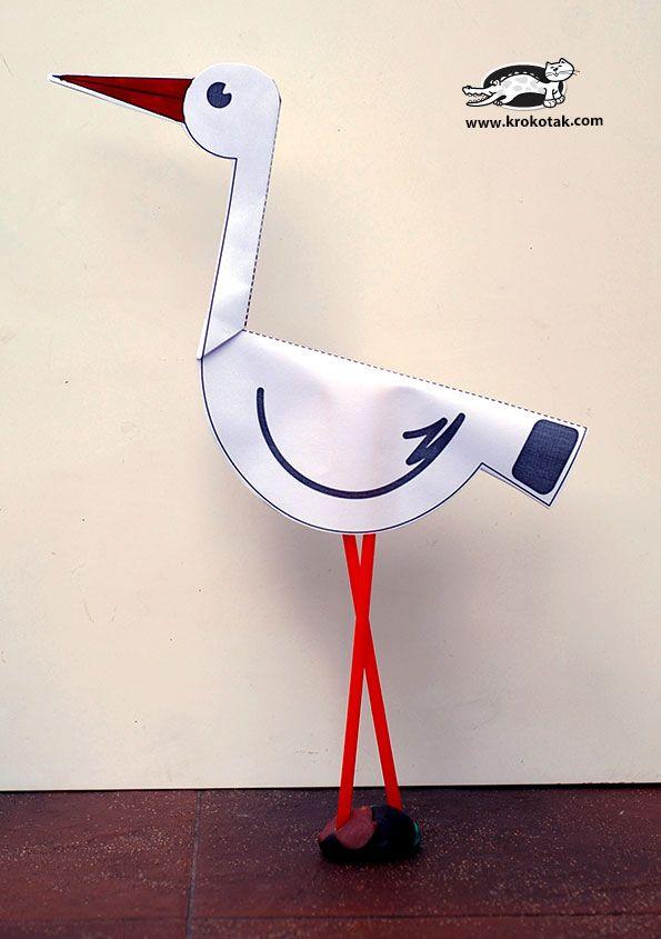 paper stork