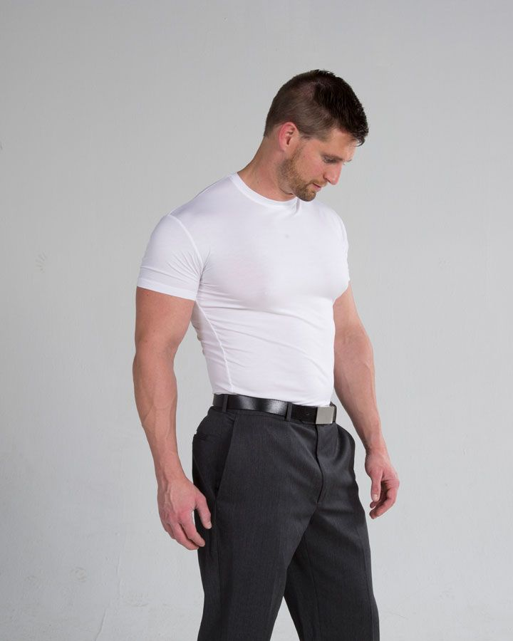 The best undershirts for men are important outfits that are invisible. Unlike t shirts, undershirts for men are snuff-fitting. This makes them almost invisible when worn under the dress shirt. Undershirts create a barrier between the dress shirt and your skin. Read here for more details : http://underfit.com/