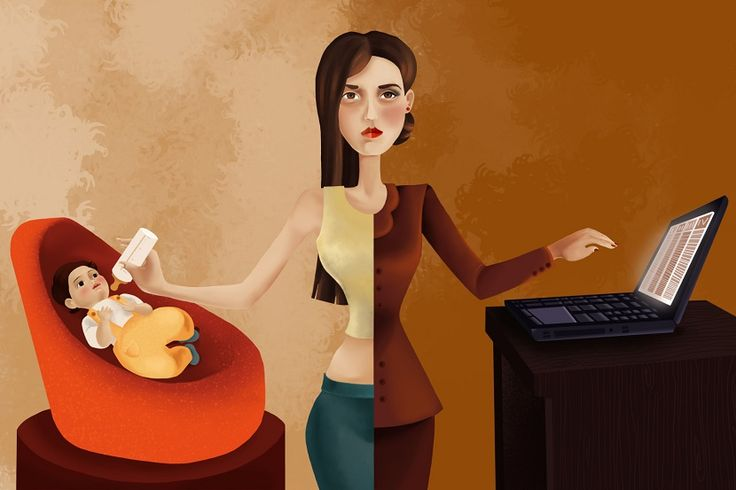 ¿Eres madre trabajadora? ¡Deja de sentirte culpable! - http://www.bezzia.com/madre-trabajadora-deja-sentirte-culpable/