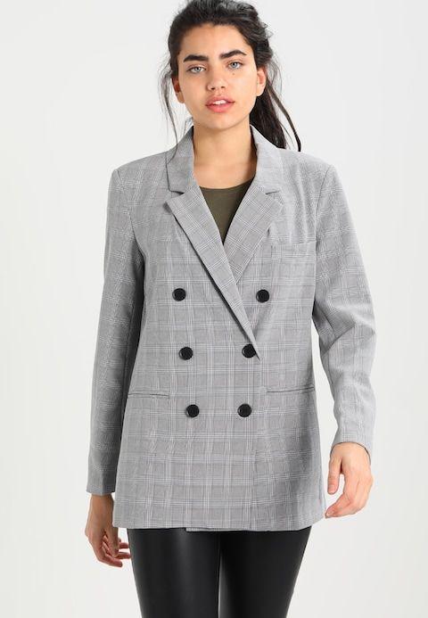382cb9a33e4c5f Fashion Union YOSHIKO - Blazer - grey für 40,95 € (03.03.18)  versandkostenfrei bei Zalando bestellen.   Coats   Blazer, Coat und Fashion