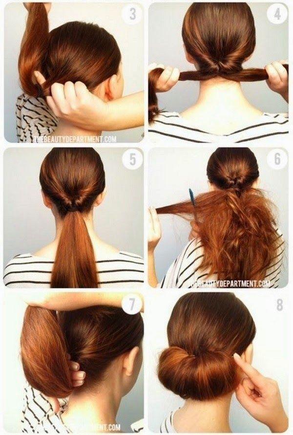 Gosto Disto!: Penteados: Cabelos presos (coques, chignons)